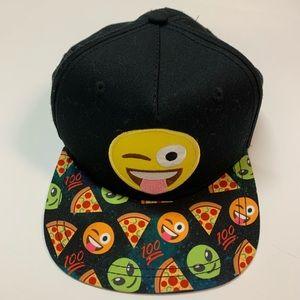 NEW Black Emojione Youth Hat